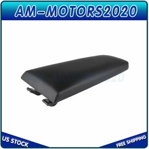For Vw Jetta Beetle 1999 2009 Black Leather Center Console Armrest Cover Lid New