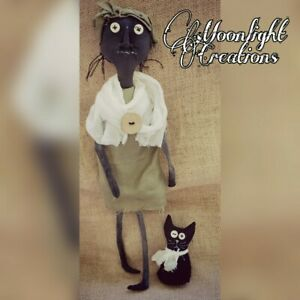 Extremely Primitive Grungy Ragdoll With Cat