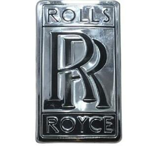 Genuine Rolls Royce Ghost Wraith Grille Trunk Rr Emblem Badge Oem Metal