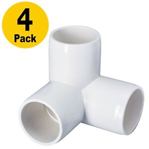 3 Way 1 Pvc Elbow Heavy Duty Pvc Furniture Fittings 3way Side Outlet Pvc 90