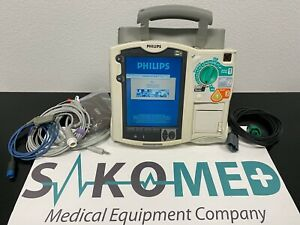 Philips Heartstart Mrx 3l Aed Pacer Spo2 Nibp Re certified 1 year Warranty