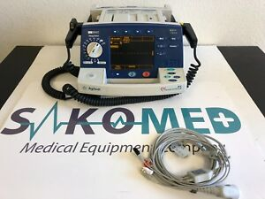 Philips Heartstart Xl 3 lead Ecg Pacing Aed Tested 12 Months Warranty