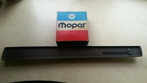 1971 1972 1973 1974 Roadrunner Woodgrain Dash Insert With Roadrunner Emblem