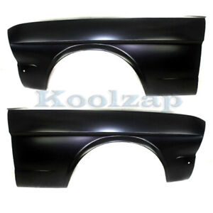64 66 Mustang Convertible fastback hardtop Front Fender Left Right Side Set Pair