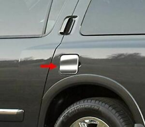 Fit 2004 2014 Nissan Armada Stainless Steel Flat Gas Cap Cover Accent