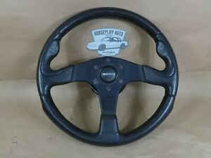 84 89 Mustang Momo Steering Wheel With Nrg Quick Release Hub