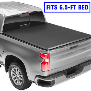 For 2007 2013 Chevy Silverado Gmc Sierra 6 5ft Bed Soft Tri Fold Tonneau Cover