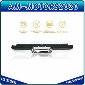 New Rear Chrome Steel Bumper For Toyota Tacoma 1995 2004 To1102215