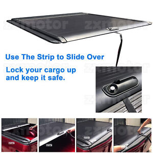 Fit 2005 2020 Ford F 150 5 5ft 66 Bed Retractable Roll Up Hard Tonneau Cover