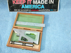 Planer Gage W case Helios 2 Machinist German Made More Us Made Here