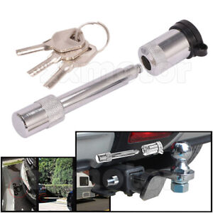 Hitch Pin Lock With 3 Keys 5 8 Truck Trailer Receiver For 2 Towing Receiver
