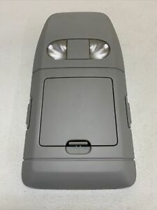 04 08 Ford F 150 Overhead Console W Map Lights Storage 3 Piece Oem Light Grey