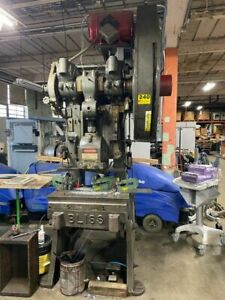 Bliss 21 1 2 60 Ton Stamping Punch Press