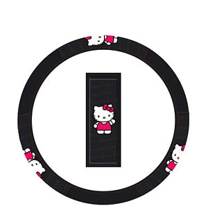 New Hello Kitty Core Grip Steering Wheel Cover 14 5 15 5