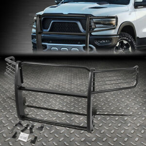For 19 20 Ram 1500 Truck Black Coated Mild Steel Front Bumper Grille Brush Guard