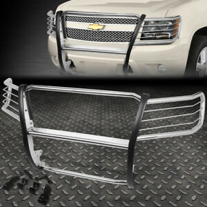 For 07 14 Chevy Tahoe suburban Stainless Steel Front Bumper Grille Brush Guard