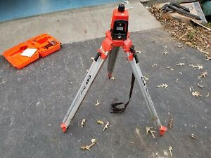 Cst Berger Lasermark Lm30 Rotary Laser Level W Case Tripod And Detector Used
