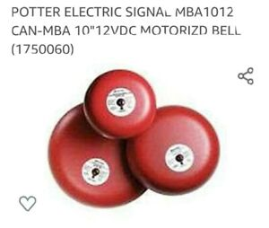 Potter Electric Mba 10 12 Bell