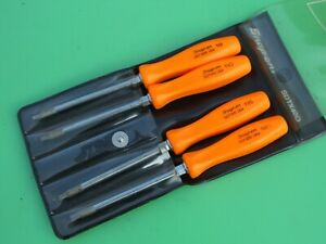 Snap On Orange Handle 4 Pc Mini Torx Driver Set T8 T10 T15 T20 Sdtx40 W Holder