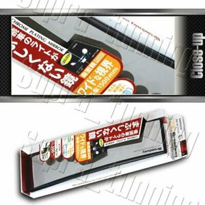 Universal Broadway 300mm Wide Interior Clip On Rear View Clear Mirror Convex