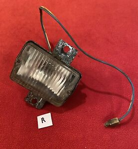 1960 Cadillac Bumper Fog Parking Running Light Guide F5 60 R