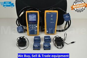 Fluke Dtx 1200 Cat5e Cat6 Certifier Cable Tester Analyzer Dtx 1200 Fast Shipping
