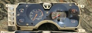 1984 1986 Mustang Svo Instrument Cluster Speedometer Tach Boost Temp Oil Fuel