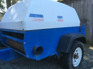 Grimmerschmidt 185d Towable Air Compressor 185 Cfm John Deere 3179 Diesel 58hp