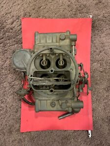 1967 Chevelle 327325 L79 Holley 325 Hp Carburetor 3806 Dated 602 Complete Core