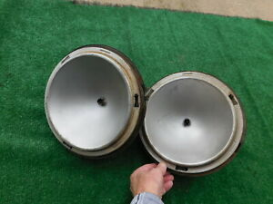 Vintage 1910 s 1920 s Headlight Buckets Hall Co Chevy Ford Dodge Ratrod Packard