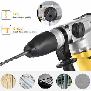 1500w 1 1 2 Sds plus Electric Rotary Hammer Drill Demolition Variable Speed