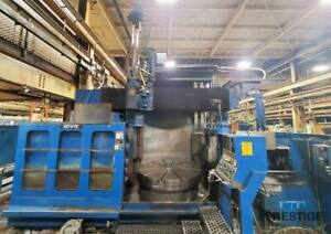 Giddings Lewis 60 vtc 60 Cnc Vertical Boring Mill 31033