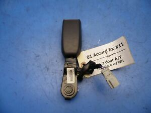 01 02 Honda Accord Oem Front Left Driver Seat Belt Buckle Receiver 2 Door 11
