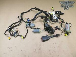 10 13 Mercedes W212 E Class Front Right Seat Adjustment Motor Wiring Set Oem