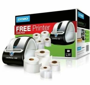 Dymo Labelwriter 450 Theraml Label Printer With Lable Rolls