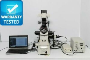 Nikon Ti e Fluorescence Motorized Dic Polarization Phase Contrast Microscope