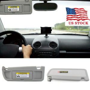 For 2006 2011 Honda Civic Ex Lx Sedan Light Gray Left Side Sun Visor Us Stock