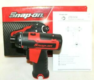 New Snap On Cts761aw1 14 4 Red Cordless Screwdriver Tool Only No Battery Cts761a