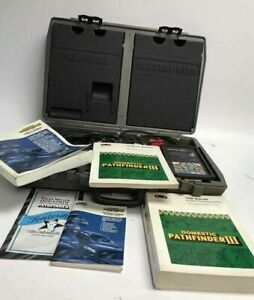 Otc Monitor 4000 Enhanced Diagnostic System Scan Tool Case Manuals Extras