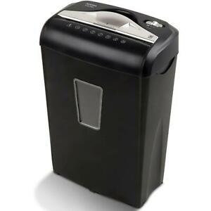 Micro cut Paper Shredder Credit Cards Small Paper Clips Staples And More