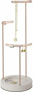 Umbra Tesora 3 tier Jewelry Stand Earring Holder Organizer And Display