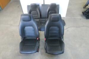 2015 2016 Mercedes E400 Front Rear Seat Set Coupe Bucket Leather Oem