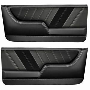 Tmi Molded Sport R Door Panels For 1968 1972 Nova With Contrast Stitch