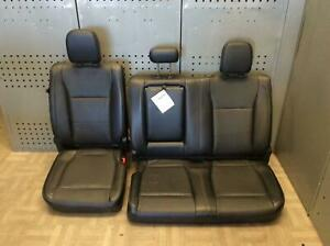 2015 Ford F150 2nd Row Rear Seat Leather Lariat Crew Cab Oem