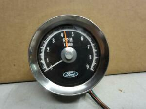 Vintage Ford Faria 9000 Rpm Tachometer Ford Thunderbolt Cobra Gt350 Shelby