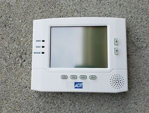 Honeywell 6270 Adt Lcd Touch Screen Keypad Pre owned Good Condition