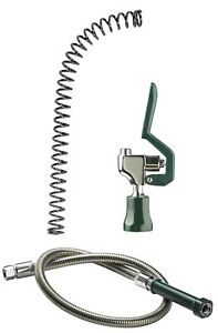 Krowne Royal Series Pre rinse Water Saver Spray Valve Head 44 Inch Hose spring