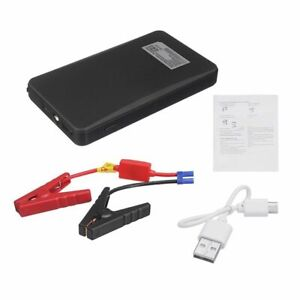 12v Mini Portable Car Jump Starter 20000mah Power Booster Battery Charger Red