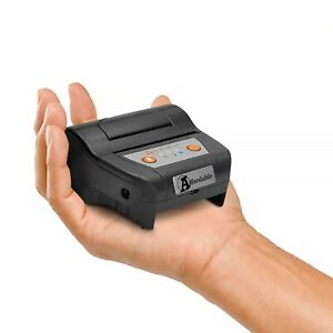 Portable Thermal Receipt Printer Bluetooth with Pouch 58mm Pos Mini Printer