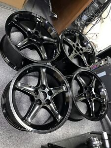 Cobra R Style Wheels 17x9 Gloss Black Priced Individually Sold As Set Of 4